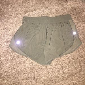 lululemon athletica Shorts - Army green lulu shorts